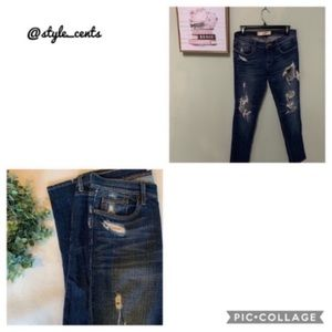 👖A&F Perfect Stretch Destroyed Jeans👖